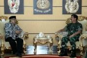FOTO Panglima TNI Terima Kunjungan Ketua Umum PBNU