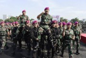 FOTO Panglima TNI Pimpin Apel Khusus Satuan Marinir