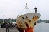 Andrey Dolgov, Kapal Pencuri Ikan Buronan Dunia Menyerah di Tangan TNI AL