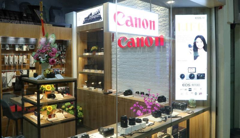 Canon Image Square Ambassador Gerai ke-3 di Jakarta