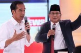 Perbedaan Perolehan Suara Jokowi dan Prabowo di Dua Pemilu