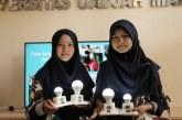 Mahasiswa UGM Kembangkan Lampu Darurat Hemat Energi