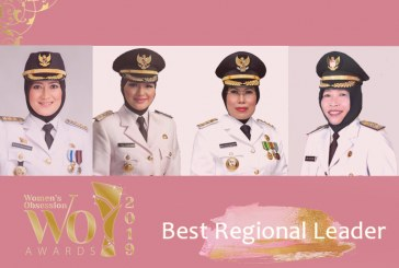 Peraih Women's Obsession Awards 2019 Kategori Best Regional Leaders