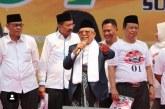 Ma'ruf Amin: Rugi Kalau Tidak Memilih Jokowi