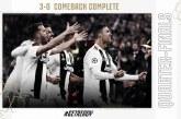 Ronaldo Cetak 'Hattrick', Juventus Raih Tiket ke Perempat Final Liga Champions