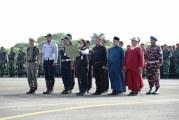 FOTO Ratusan Ribu Prajurit TNI-Polri Apel Pengamanan Pemilu 2019