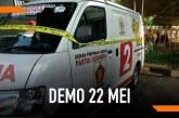 Sopir Ambulans Berlogo Partai Gerindra Akui Bawa Batu