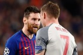 Messi Ejek Pemain Liverpool 'Keledai' Akhirnya Barca Tumbang