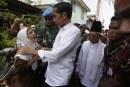 FOTO Jokowi-Ma'ruf Sampaikan Pidato Kemenangan
