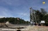 Jembatan Gantung Kian Rai Ikun Permudah Akses Warga