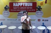 Jalur Lintasan Happy Run 2019 Bernuansa Taiwan