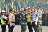 FOTO Apel TNI-Polri Siap Amankan Sidang PHPU