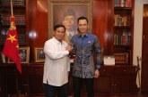 AHY Beri Ucapan Selamat dan Terima Kasih kepada Jokowi dan Prabowo