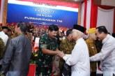 FOTO Halal Bihalal Prajurit TNI dan Purnawirawan