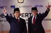 Kasasi Prabowo-Sandiaga Kembali Kandas di Tangan MA