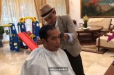 Jokowi Ingin Ubah Gaya Potongan Rambut Mirip Anak Muda