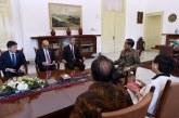 Presiden Jokowi Bahas Persiapan Leader's Retreat Bersama Menlu Singapura