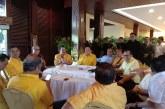 Acara Deklarasi Caketum Golkar Dihadiri Pemuda Pancasila