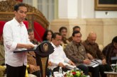 Jokowi Beri Waktu Tiga Bulan Bagi Kapolri Selesaikan Kasus Novel