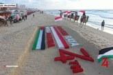 Mengharukan, Warga Palestina Rayakan HUT RI-74 di Jalur Gaza