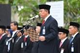 Maryono Letakkan Batu Pertama Pembangunan Patung Fatmawati di Bengkulu