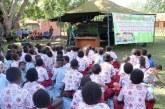 Cerdas! Perpustakaan Keliling TNI di Sekolah Perbatasan