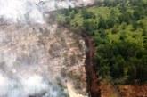 Kalimantan Kebakaran Hutan Parah, Warga Sesak Napas