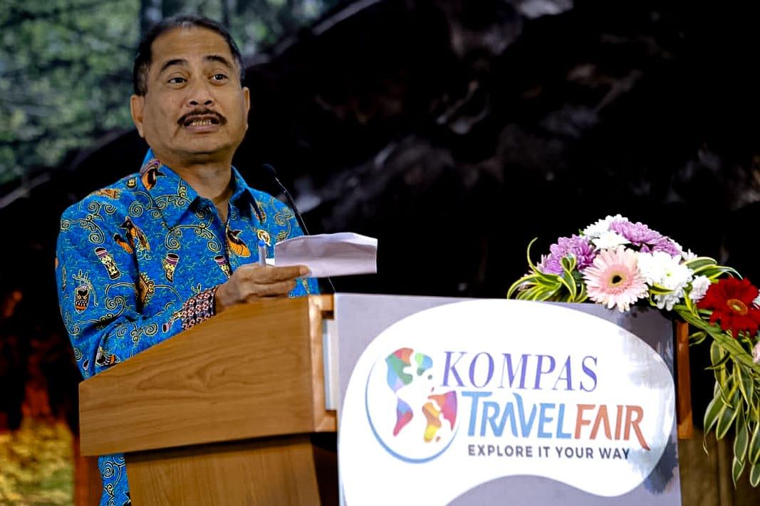Menpar Minta Travel Fair Promosikan Wisata Dalam Negeri
