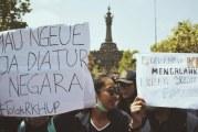 FOTO Mahasiswa Bali Tolak Revisi UU KPK
