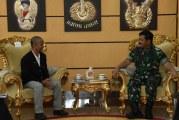 FOTO Panglima TNI Terima Ketua HarianPBLemkari