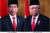 Duet Jokowi-Ma'ruf Amin Pimpin Indonesia Periode 2019-2024