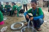 Ubah Nasib Jadi Lebih Baik Melalui Pelatihan Pembuatan Kawat Bronjong