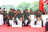 HUT ke-74 TNI Gelar Kekuatan Pasukan Parade 6.806 Personel