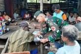 Kostrad Lakukan Pengobatan Keliling di Perbatasan RI-PNG