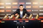 Messi Raih Trofi Sepatu Emas ke-6