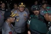 FOTO Panglima TNI dan Kapolri Tinjau Gedung DPR/MPR