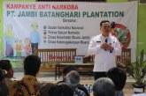 Pekerja dan Direksi Jambi Batanghari Plantation Tolak Segala Jenis Penyalahgunaan Narkoba