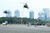 Simulasi Pengamanan Pelantikan Presiden RI di Monas