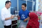 Jokowi Sidak Layanan BPJS Kesehatan di RSUD Abdul Moeloek
