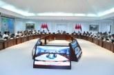 Jokowi Bahas Langkah Penguatan Neraca Perdagangan Bersama Menteri Terkait