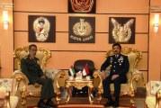 FOTO Panglima TNI Terima Kunjungan Kehormatan Panglima Angkatan Bersenjata UEA