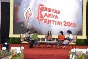 FOTO Ketum Dharma Pertiwi Ikuti Talkshow Industri Kreatif