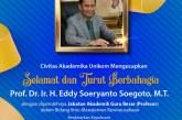 Eddy Soeryanto Soegoto Raih Gelar Guru Besar Bidang Ilmu Manajemen Kewirausahaan