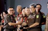 Wujudkan Indonesia Bebas Korupsi Puluhan Satker Kejaksaan Terima Apresiasi