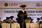 Intisari Pidato Pengukuhan Guru Besar Haedar Nashir