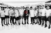 Cak Nun Bertolak ke Filipina Beri Dukungan Untuk Timnas di Laga Final