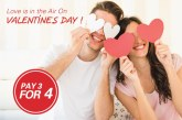 Ara Hotel Gading Serpong Rayakan Love Is In The Air On Valentine's Day