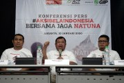 FOTO Konferensi Pers Aksi Bela Indonesia Bersama Jaga Natuna