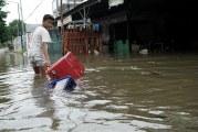 FOTOBanjir di Awal Tahun Baru