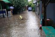 FOTO Banjir di Kompleks Perumahan BSP Bekasi